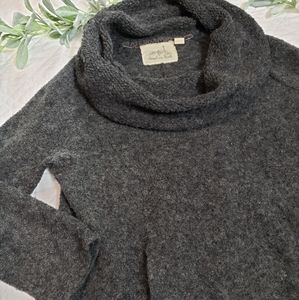 Anthropologie Angel of the North Cowl Hoodie M